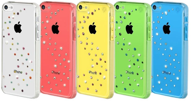 Bling My Thing Milky Way Collection Case for iPhone 5C - Blue Mix