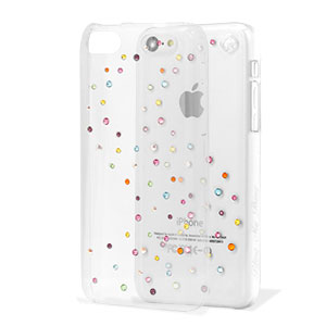 Bling My Thing Milky Way Collection iPhone 5C Case - Cotton Candy