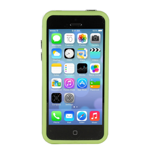 GENx Bumper Case for Apple iPhone 5C - Green