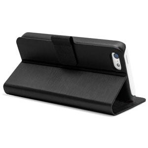 Metalix Book Case for Apple iPhone 5C - Black