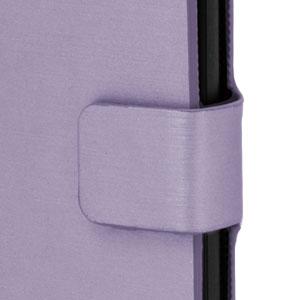 Metalix Book Case for Apple iPhone 5C - Light Purple