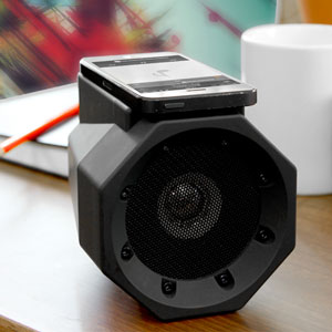 thumbsUp! Touch Speaker Boom Box - Black