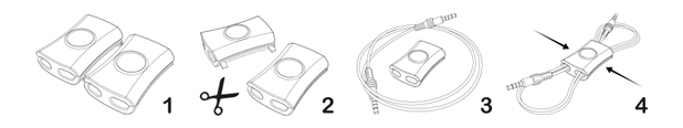 Range câble Snappi Gumbite - Pack de 2