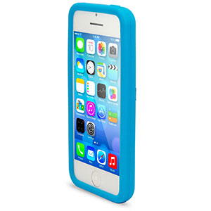 Circle Case for Apple iPhone 5C - Blue
