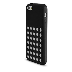 Circle Case for Apple iPhone 5C - Black