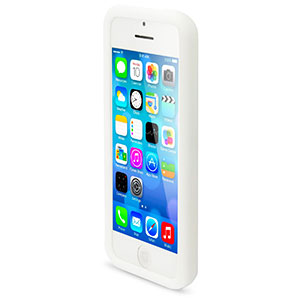 Circle Case for Apple iPhone 5C - White