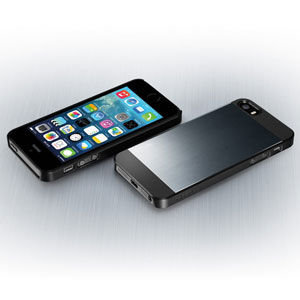 Spigen SGP Saturn for iPhone 5S / 5 - Metal Slate