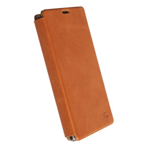 Krusell Kiruna FlipCover Leather Case for HTC One - Vintage Black