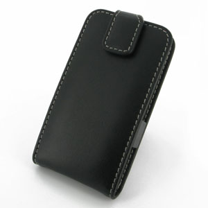 PDair Leather Flip Case for LG G2 - Black