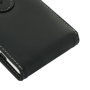 PDair Leather FlipCase for LG G2 - Black