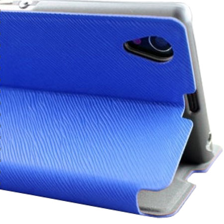 Muvit Sony Xperia Z1 Stick 'N' Stand Case - Blue
