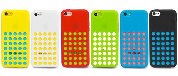 half off 2b4cb 7d26c 6 Pack Circle Case for Apple iPhone 5C