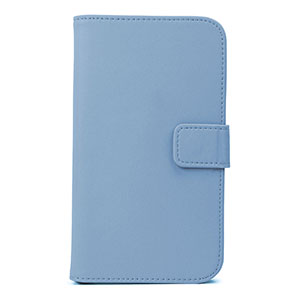 Wallet Case for Samsung Galaxy Note 3 -  Blue