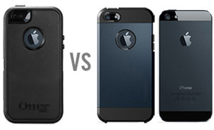 Spigen SGP Tough Armor Case for iPhone 5C - Smooth Black