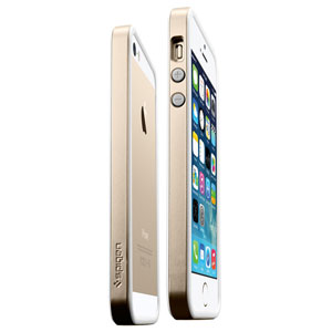 Spigen SGP Neo Hybrid EX for iPhone 5S / 5 - Champagne Gold