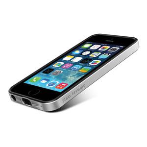 Coque iPhone 5S / 5 Spigen SGP Neo Hybrid - Argent satiné