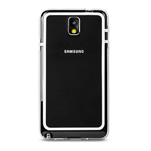 FlexiFrame Samsung Galaxy Note 3 Bumper Case - Clear