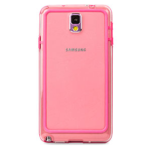FlexiFrame Samsung Galaxy Note 3 Bumper Case - Pink