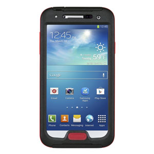 Seidio OBEX Waterproof Case for Galaxy S4 - Black / Red