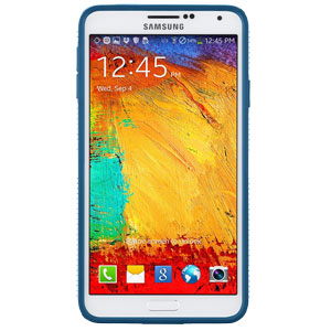 Speck CandyShell Grip for Samsung Galaxy Note 3 - White/Deep Sea Blue