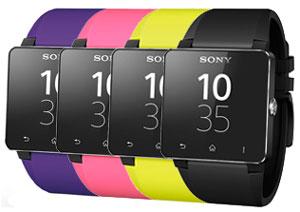 Sony SmartWatch 2 Silicone Wrist Strap - Black