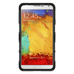 Seidio ACTIVE Case for Samsung Galaxy Note 3 with Kickstand - Black