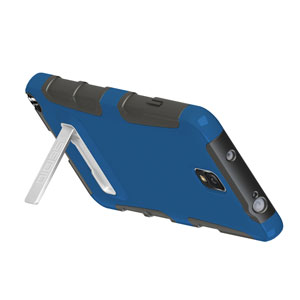 Seidio ACTIVE Case for Samsung Galaxy Note 3 with Kickstand - Blue