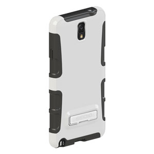 Seidio ACTIVE Case for Samsung Galaxy Note 3 with Kickstand - White