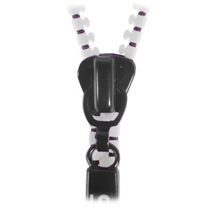 Zippit 3.5mm Anti-Tangle Earphones with Hands Free Microphone - White