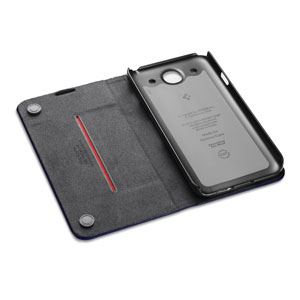 Spigen SGP Slim Wallet Case for Samsung Galaxy S4 - Navy