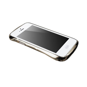 Draco Design Aluminium Bumper for the iPhone 5S / 5 - Luxury Silver