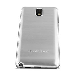Metal Replacement Back for Samsung Galaxy Note 3 - Silver