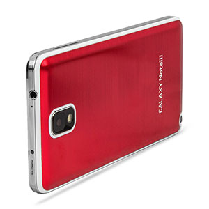 Metal Replacement Back for Samsung Galaxy Note 3 - Red