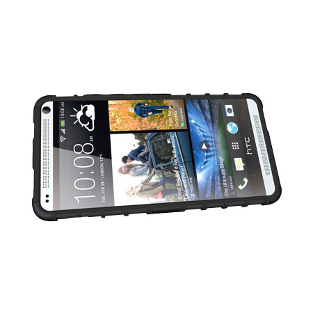 ArmourDillo Hybrid Protective Case for HTC One Max - Black