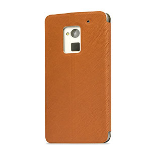 Flip Folio Case for HTC One Max - Brown