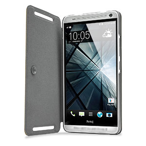Flip Folio Case for HTC One Max - Brown
