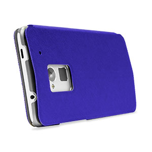Flip Folio Case for HTC One Max - Blue