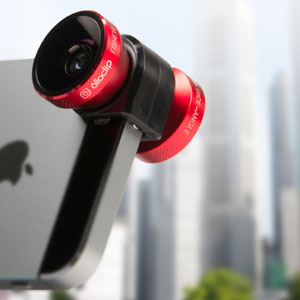 olloclip 5S / 5 4-IN-1 Lens Kit for iPhone 5S / 5 - Red