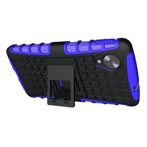 Armourdillo Hybrid Protective Case for Google Nexus 5 - Purple