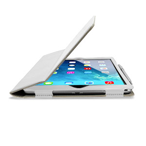 Stand and Type Case for iPad Air - White