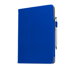 Stand and Type Case for iPad Air - Blue