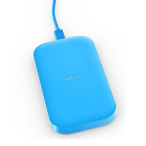 Nokia Portable Wireless Charging Plate DC-50 - 2400mAh - Cyan