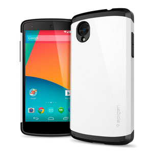 Spigen Slim Armor Case for Google Nexus 5 - White