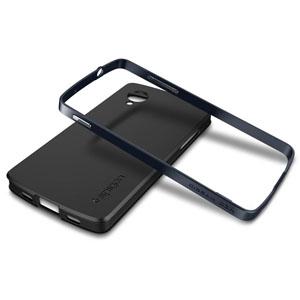 Spigen SGP Neo Hybrid for Google Nexus 5 - Metal Slate