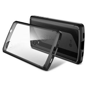 Funda para el Nexus 5 de Spigen Ultra Hybrid - Negro