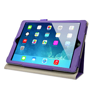 Sonivo Leather style Case for iPad Air - Purple