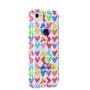 Case-Mate Tough Naked Case for iPhone 5C - Hearts