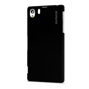 Capdase Karapace Touch Case for Sony Xperia Z1 - Black