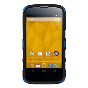 Seidio ACTIVE Case for Google Nexus 4 with Kickstand - Blue