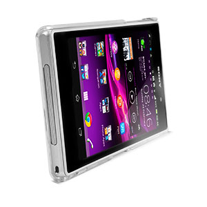 Capdase Karapace Jacket Finne DS for Sony Xperia Z1 - Clear